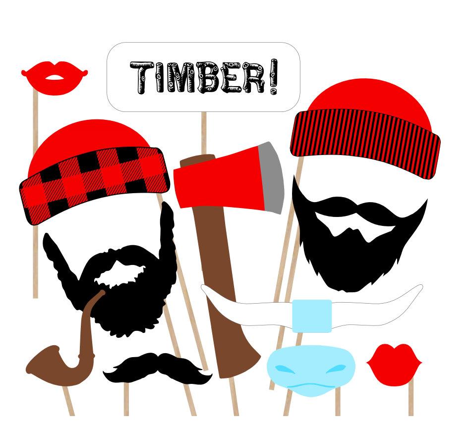 Beard clipart illustration. Free lumberjack cliparts download