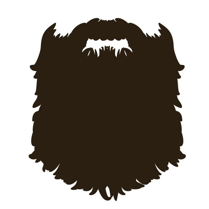 Beard clipart long beard. Cute clipartfox clipartix