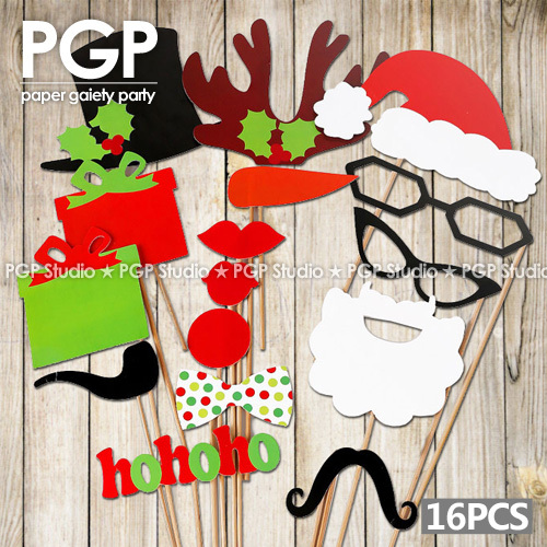 Beard clipart mask. Pgp christmas paper pcs