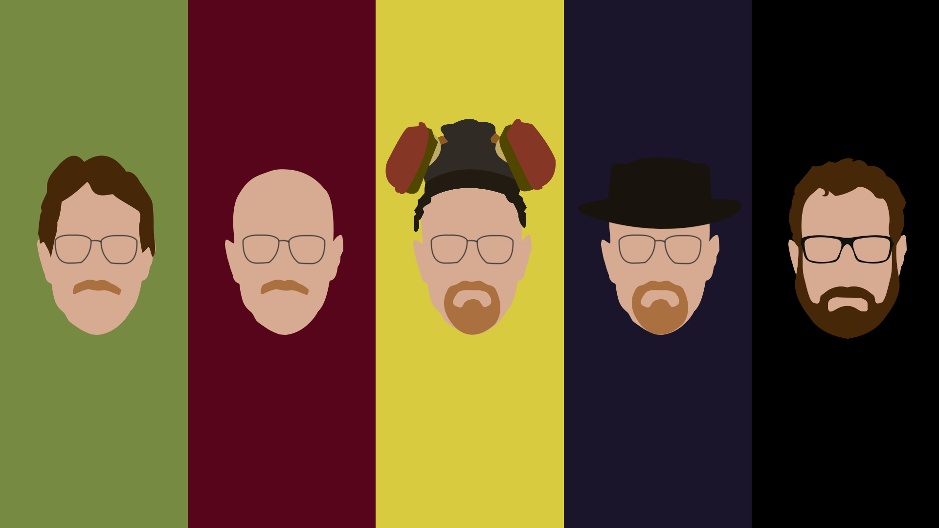 I made this wallpaper. Beard clipart minimalist