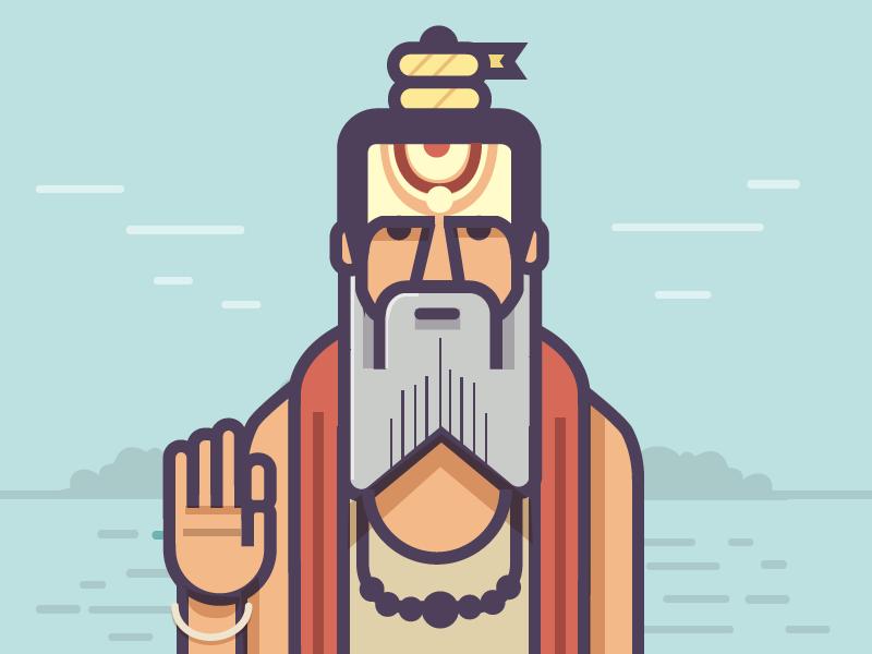 Beard clipart minimalist. Ranganath krishnamani guru epic