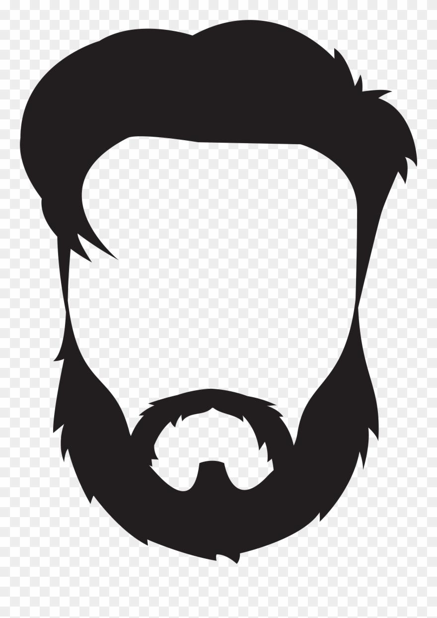 Beard clipart moustache beard. And mustache png download