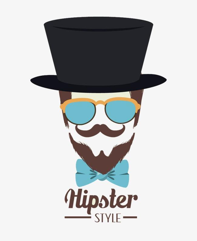 Beard clipart moustache beard. Hat man stylish men