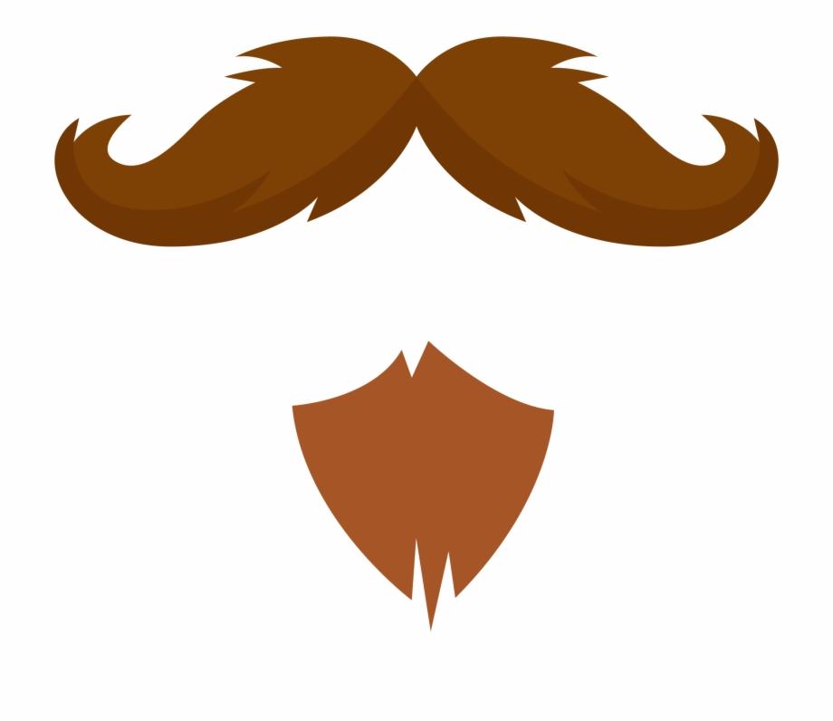Free icons png mustache. Beard clipart moustache beard