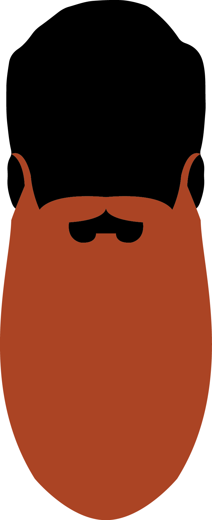 Austin facial hair club. Moustache clipart short beard