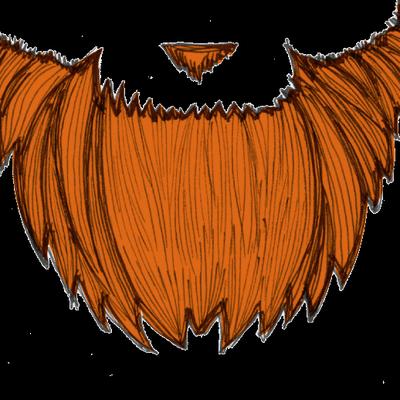Red redbeardstl twitter. Beard clipart orange beard
