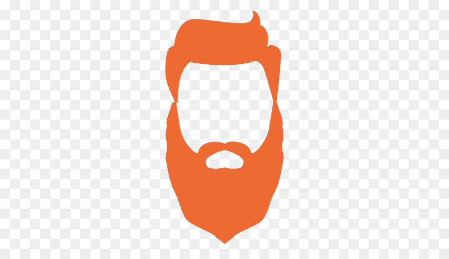 Logo clip art png. Beard clipart orange beard