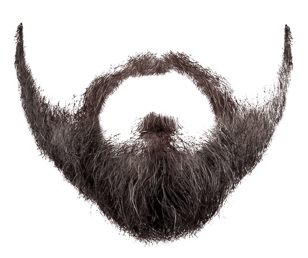 Download free png photo. Beard clipart original