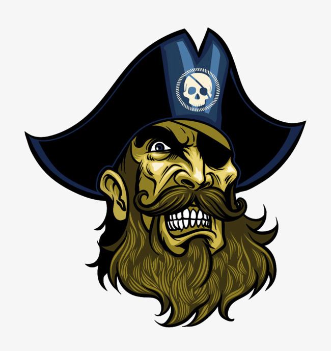 Avatar head portrait png. Beard clipart pirate beard
