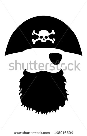 . Beard clipart pirate beard
