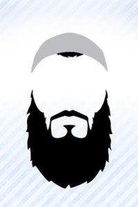 Beard clipart plain. The talibatul ilm it