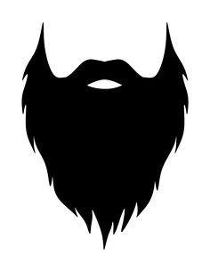 Beard clipart printable. Pin by milijana aleksi