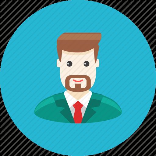 Iconfinder avatars by kolo. Beard clipart profile