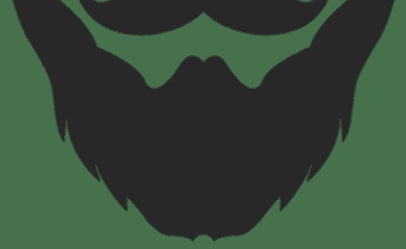 Clip art beauty within. Beard clipart profile