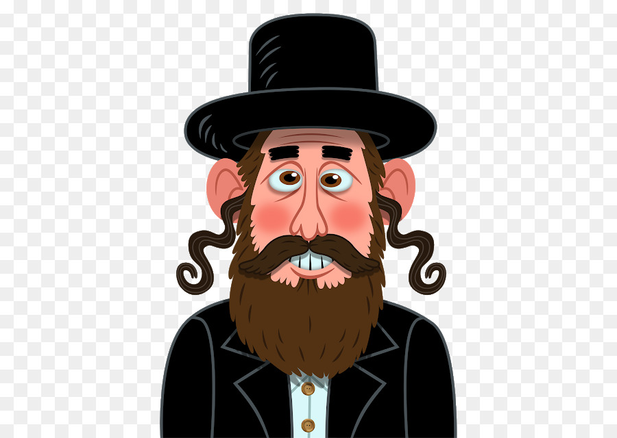 Beard clipart rabbi. Emoji hasidic judaism png