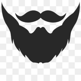 And moustache png psd. Beard clipart rabbi