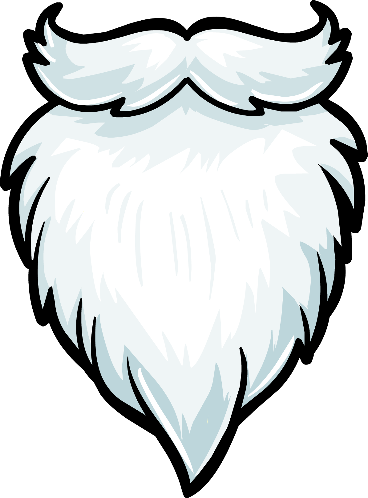 Clipartix. Beard clipart santa claus
