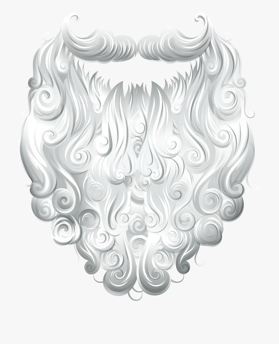 Png . Beard clipart santa claus