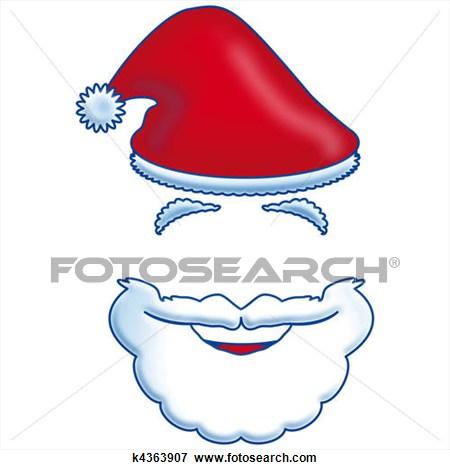 Beard clipart santas. Santa