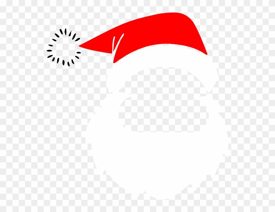 Download santa claus face. Beard clipart santas