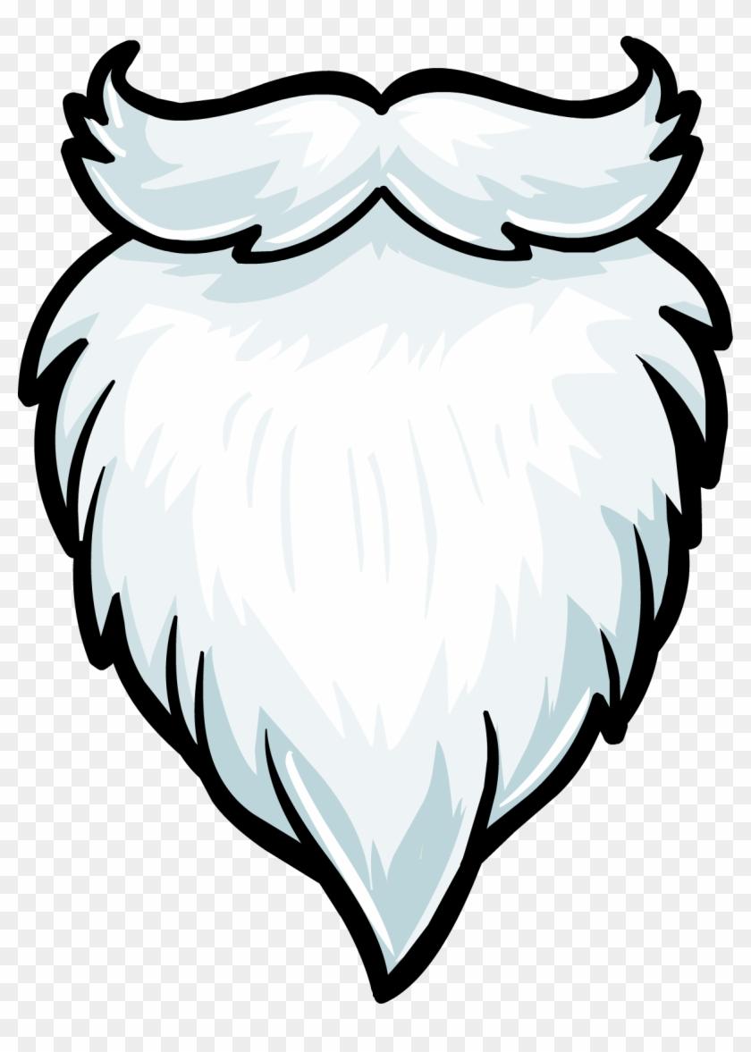 Santa free transparent png. Beard clipart santas