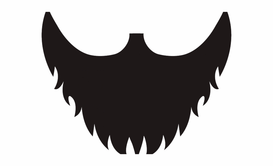 Beard clipart short beard. Transparent background