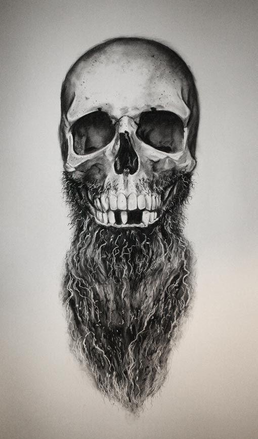 Daniel a bavell bearded. Beard clipart sketch