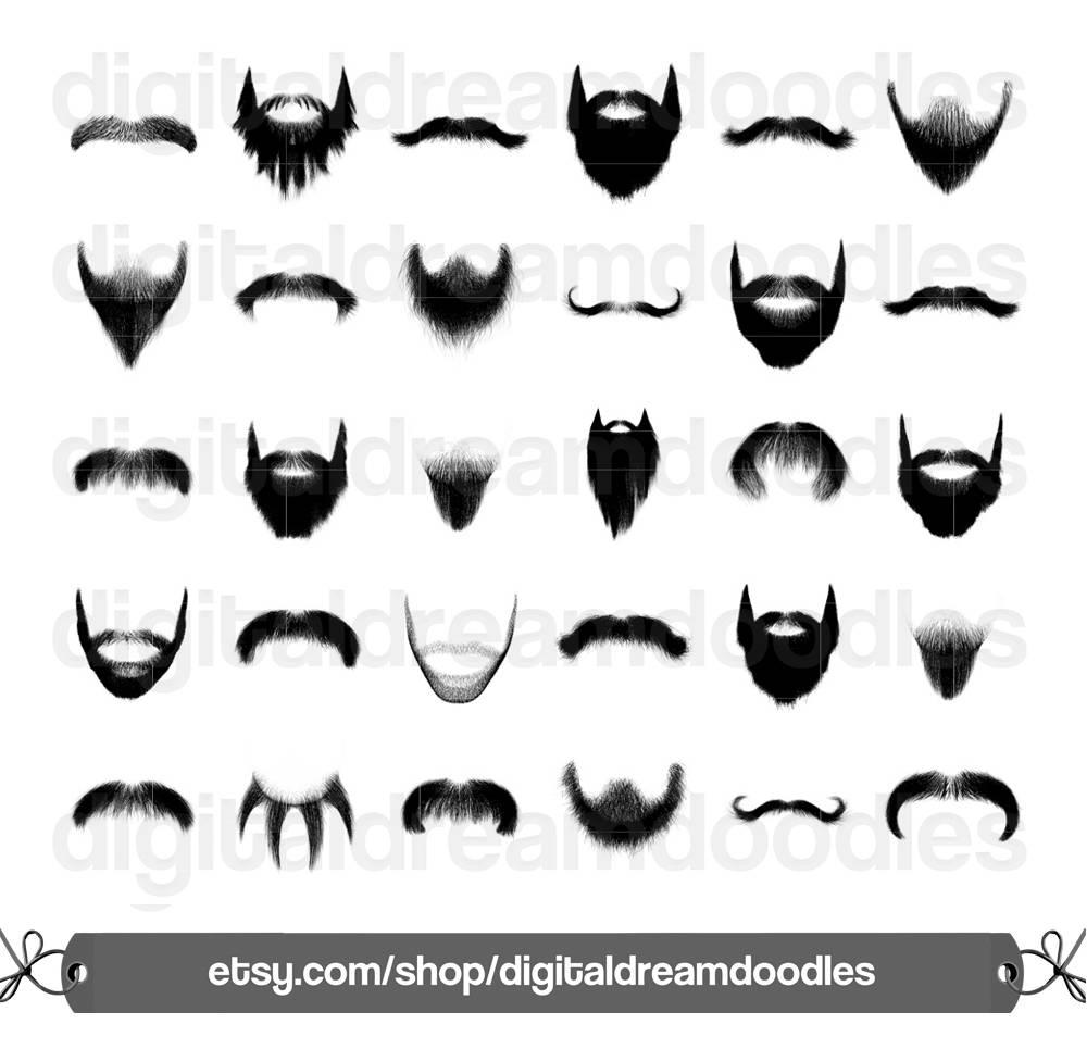 Beard clipart stubble. Clip art moustache mustache