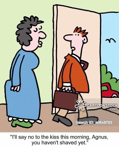 Cartoons and comics funny. Beard clipart stubble