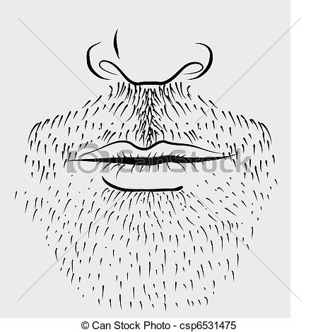 collection of drawing. Beard clipart stubble