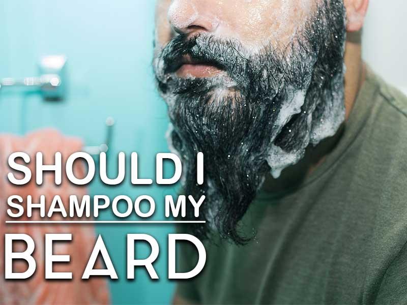 Should i shampoo my. Beard clipart stubble