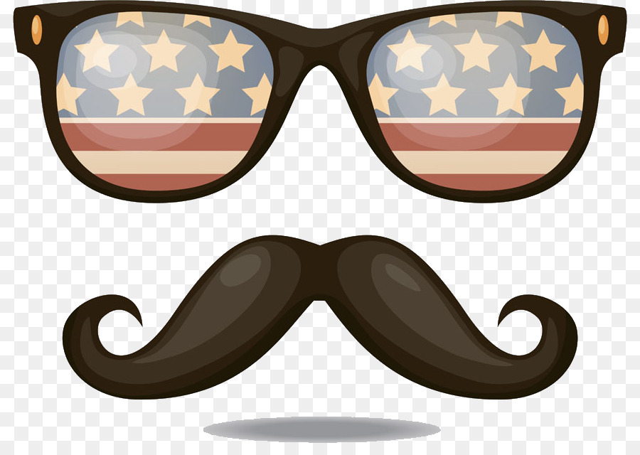 Beard clipart sunglass. Flag of the united