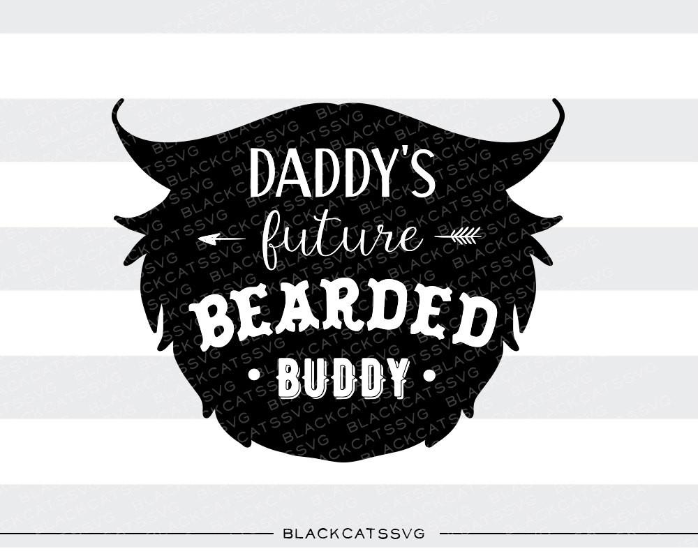 Daddy s future bearded. Beard clipart svg