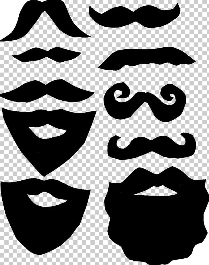 Beard clipart template. Moustache lip png and
