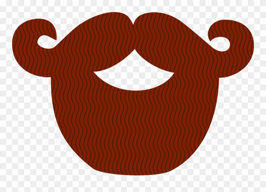 Beard clipart template. Moustache and pinclipart