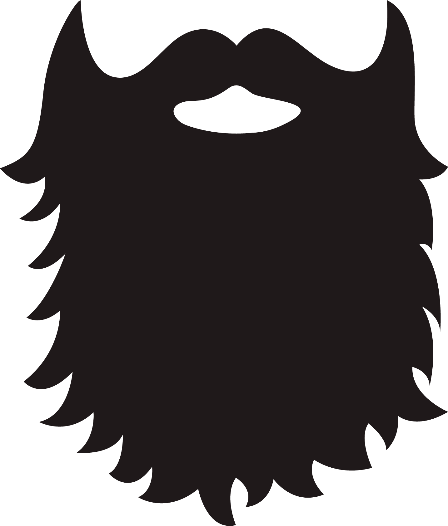 Beard png transparent free. Clipart mustache simple