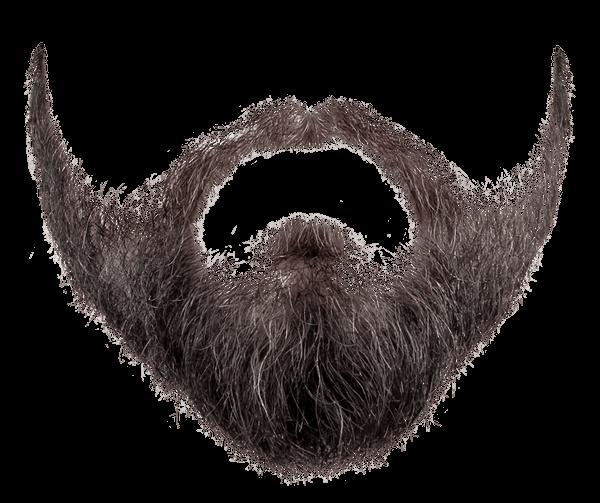 Grey black png stickpng. Beard clipart transparent background