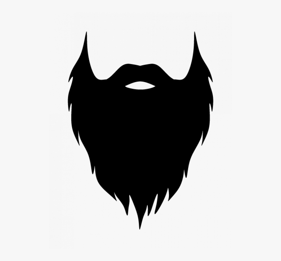 Free . Beard clipart transparent background