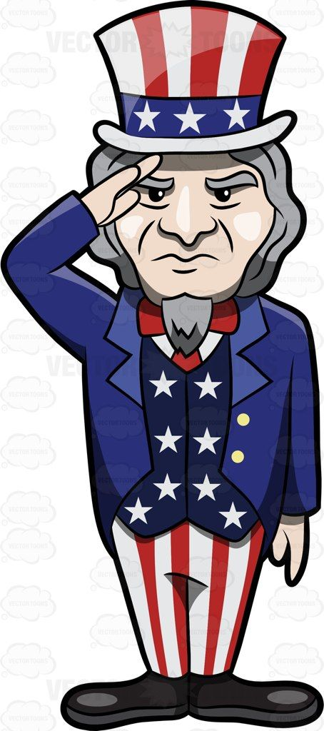 Beard clipart uncle sam. Standing tall and proud