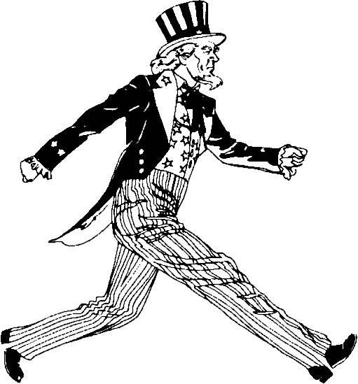 best images on. Beard clipart uncle sam