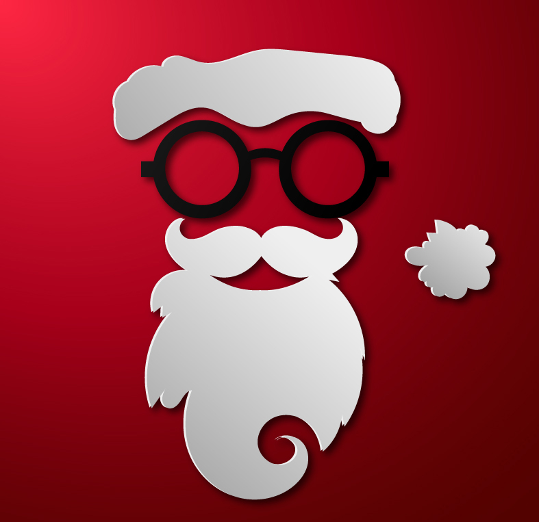 Beard clipart vector. Free santa cliparts download