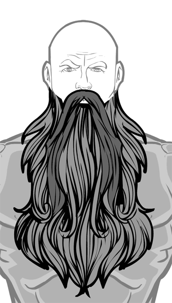 Beard clipart viking beard.  collection of drawing