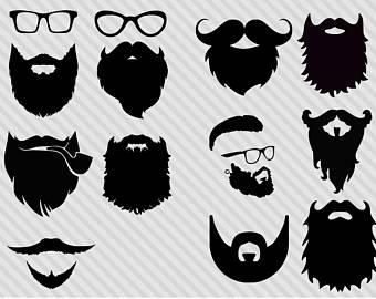 Beard clipart viking beard. Etsy svg bundlehipster bundle