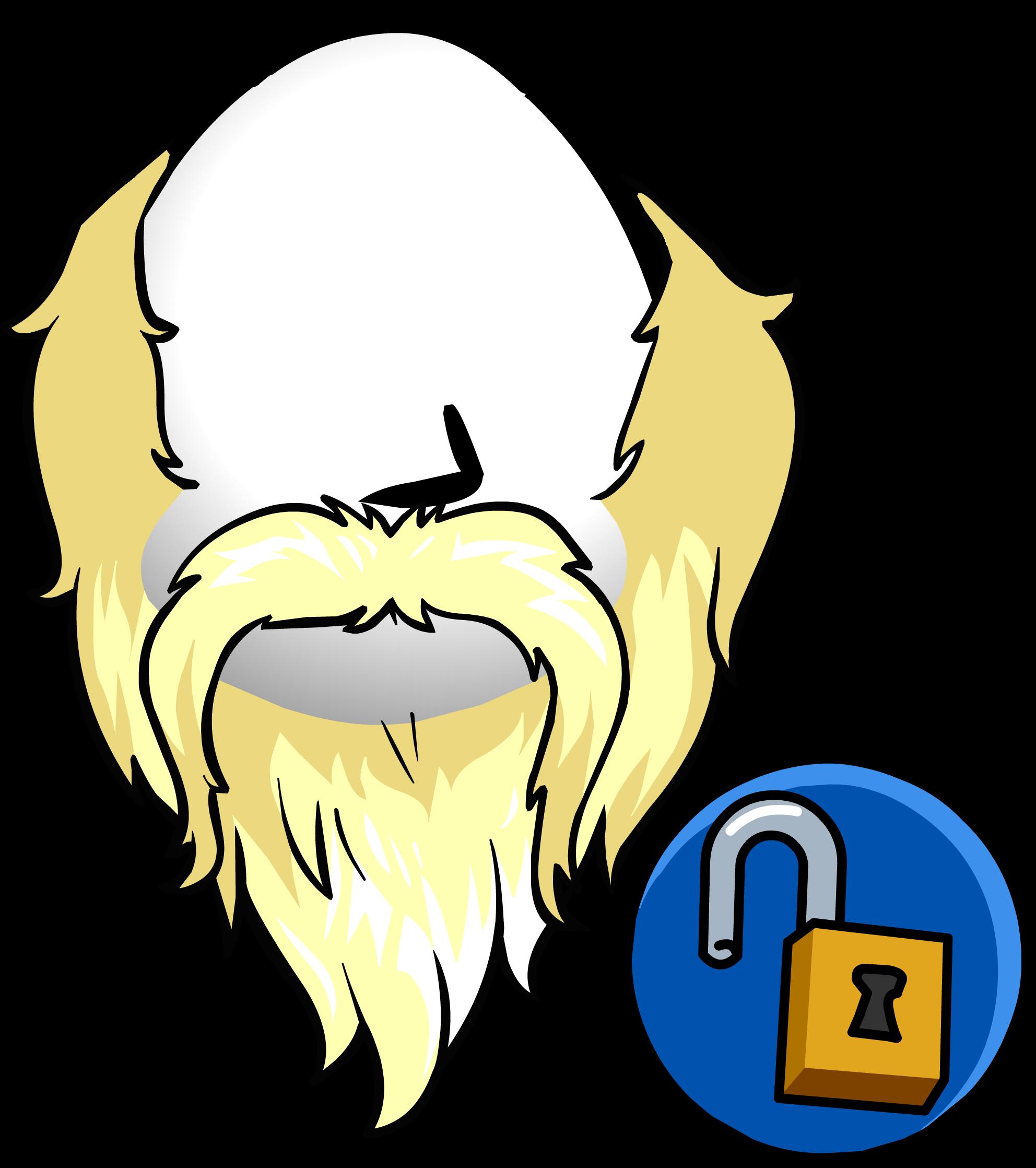 Beard clipart viking beard. Club penguin wiki fandom