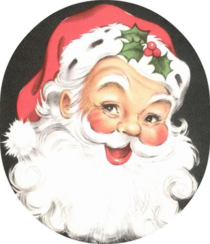 Free santa images incep. Beard clipart vintage