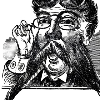 Beard clipart vintage. Father s day clip