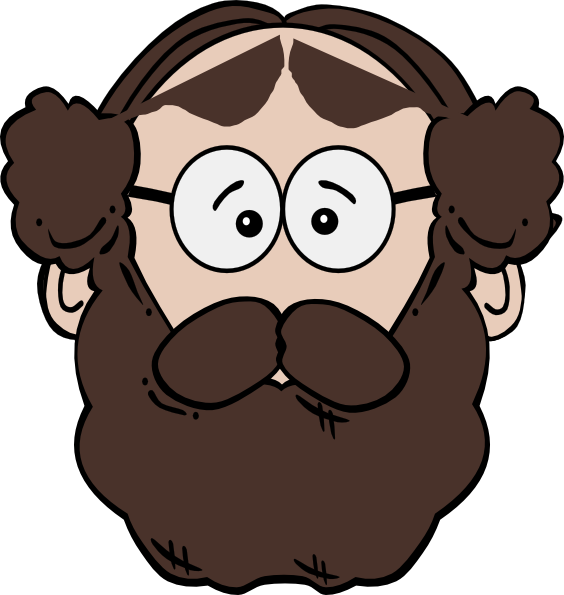 Man clip art at. Beard clipart