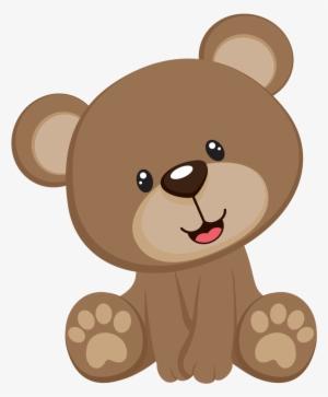 Cute bear png transparent. Bears clipart adorable