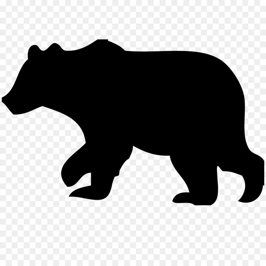 Bears clipart american black bear. Polar grizzly clip art