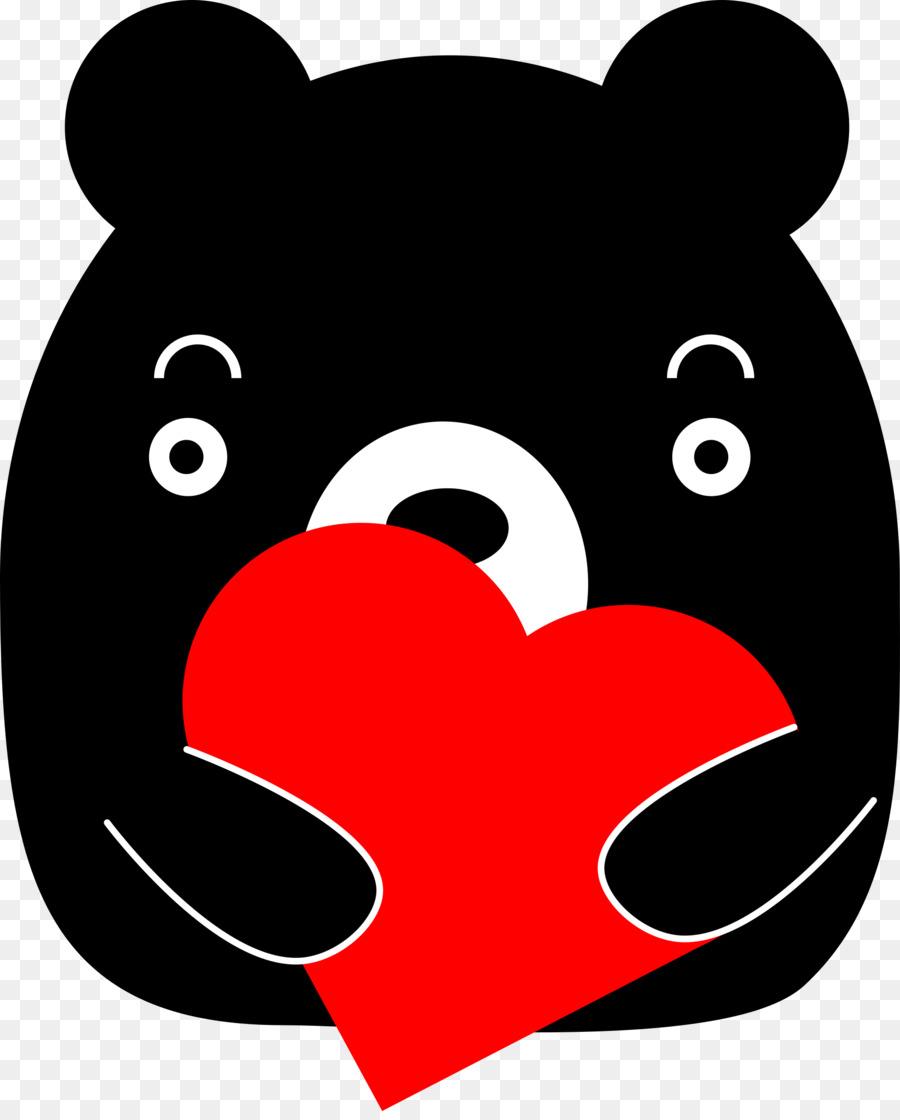 Giant panda formosan clip. Bears clipart american black bear